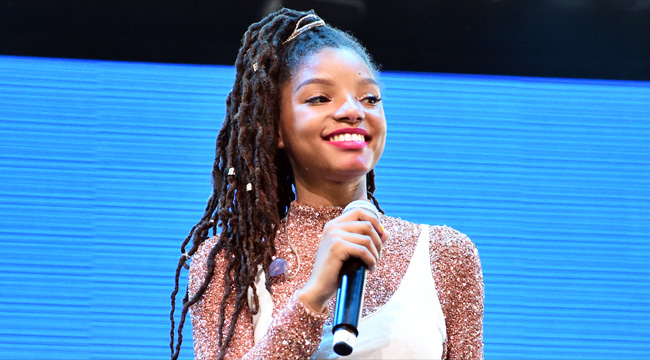 Image result for I don't pay attention to negativity: Halle Bailey on The Little Mermaid casting row