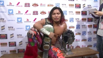NJPW Star Hiromu Takahashi Wants You To Follow His Film Review Blog
