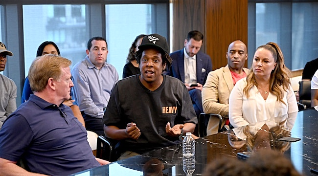 Jay-Z Thinks It Doesn't Matter What People Say About His NFL Deal Because He's Trying To Make Changes