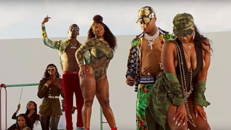 Key Glock And Young Dolph Throw A Surreal Mansion Party In Their Summery 'Water On Water On Water' Video