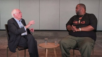 Killer Mike And Bernie Sanders Sit Down To Discuss The Wealth Gap