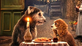 The 'Lady And The Tramp' Poster Has People Second-Guessing Disney's Remake Everything Plan