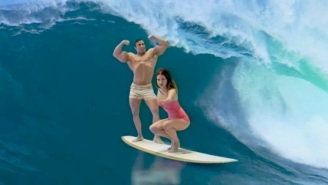 Lana Del Rey Goes Green Screen Surfing In Her 'Norman F*cking Rockwell' Album Trailer
