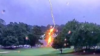 A Terrifying Lightning Strike Injured Spectators At The Tour Championship In Atlanta