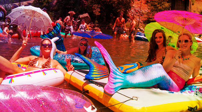 These Photos From Sunset Campout Have Us Wishing For An Endless Summer