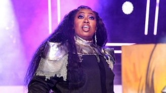 Missy Elliott Performed 'Throw It Back' And 'The Rain' In A Neon Hall Of Mirrors For The MTV VMAs