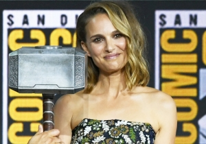 Natalie Portman Had A Worthy Response For Brie Larson After She Tauntingly Picked Up Thor's Hammer