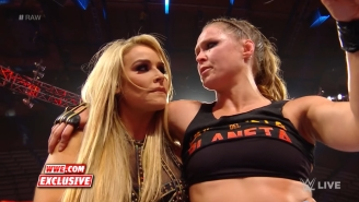 Becky Lynch Comments On The Chances Of Ronda Rousey Helping Out Natalya At SummerSlam