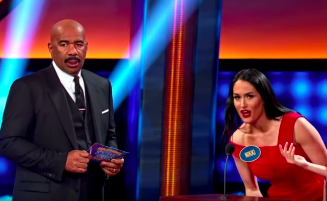 The Bella Twins Competed With MMA Fighters On Celebrity Family Feud