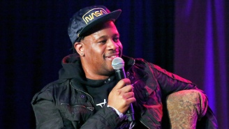 Open Mike Eagle Tries To Handle His Stress With A Diet Of 'Whiskey And Push-Ups'