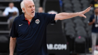 Gregg Popovich Considers Australia A 'Huge Threat' To Win The FIBA World Cup