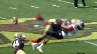 Lehigh Scored A Special Teams Touchdown After Busting Out The Truck Stick On The Opposing Punter