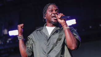Pusha T Shouts Out The Scammers On His Kanye West-Produced New Single, 'Sociopath' Featuring Kash Doll