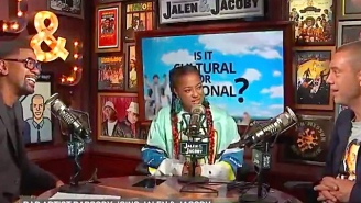 Rapsody Is Shocked To Learn Some People Refrigerate Hot Sauce During An Interview With Jalen Rose