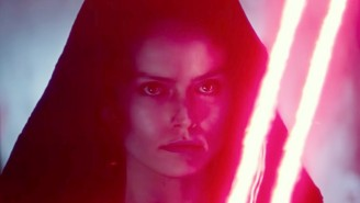 The 'Star Wars: The Rise Of Skywalker' Cast Reacts To Rey's Shocking Turn In New Footage