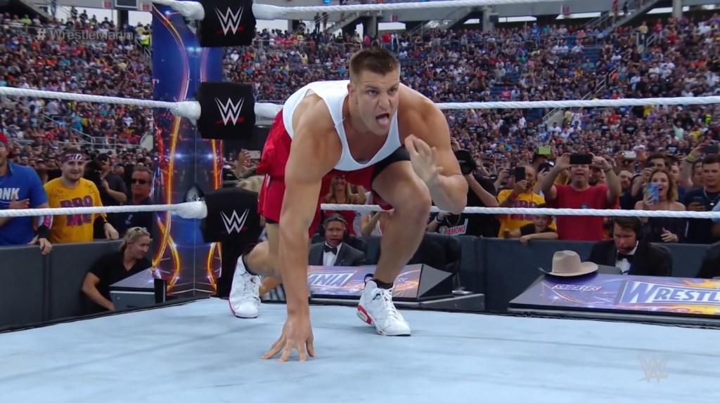 Rob Gronkowski Wants 'One Crazy Match' In WWE