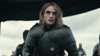 Robert Pattinson's Long Hair In 'The King' Trailer Is Making People Lose It