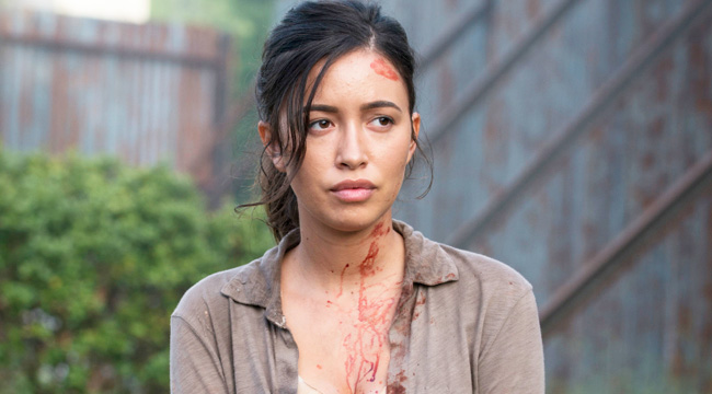 The Walking Dead' Reveals Name Of Rosita's Baby, Confirms Time Jump