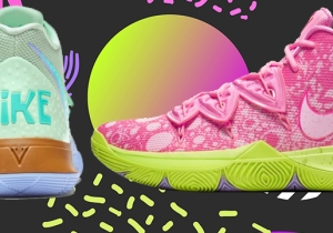 SNX: The Best Shoes Out This Week, Featuring The Kyrie 'SpongeBob' Collection