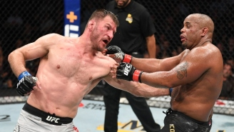 Stipe Miocic TKO'd Daniel Cormier To End His Heavyweight Title Reign At UFC 241