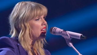 Taylor Swift Beautifully Covered Phil Collins' 'Can't Stop Loving You'