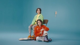 Tegan And Sara's 'I'll Be Back Someday' Video Is An Appropriate Throwback