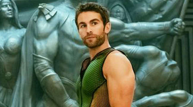 Chace Crawford's Got An Enormous Bulge In A Calendar For 'The Boys,' And People Have Definitely Noticed