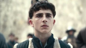 Bow Down To Timothée Chalamet's Bowl Cut In Netflix's 'The King' Trailer