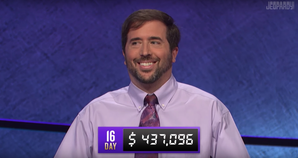 The Current 'Jeopardy!' Champion Is Creeping Into Holzhauer Territory