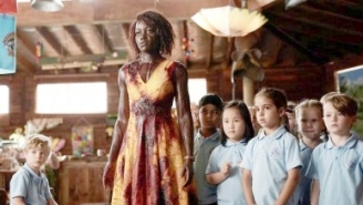 Oscar Winner Lupita Nyong'o Is A Zombie Killing-Machine In The New 'Little Monsters' Trailer