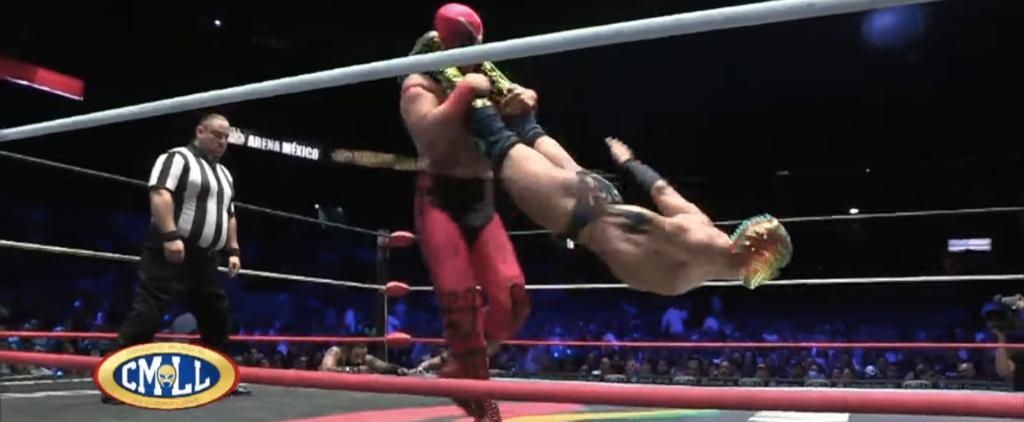 ¡Lucha libre en CMLL!