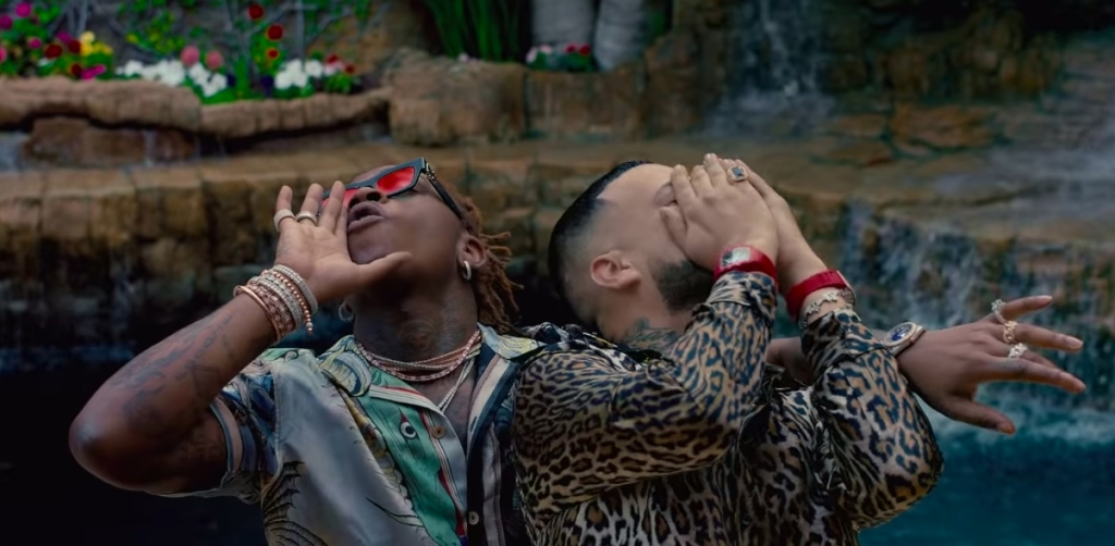 French Montana And Gunna Enjoy An Exotic Getaway In Their Tropical 'Suicide Doors' Video