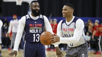 James Harden Expects 'Ups And Downs,' But Is Optimistic About Teaming Up With Russell Westbrook