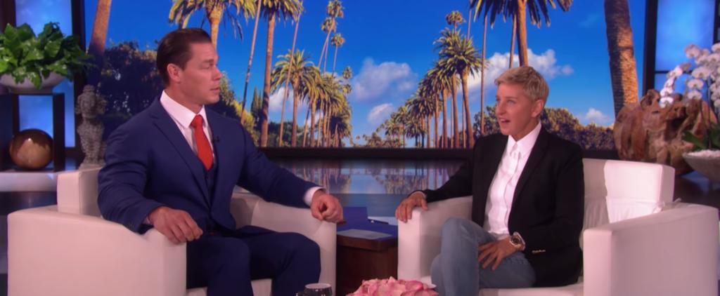 John Cena and Ellen Degeneres