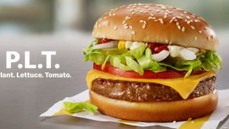 McDonalds' Plant-Based Menu Item Isn't A Burger, It's A 'P.L.T.'