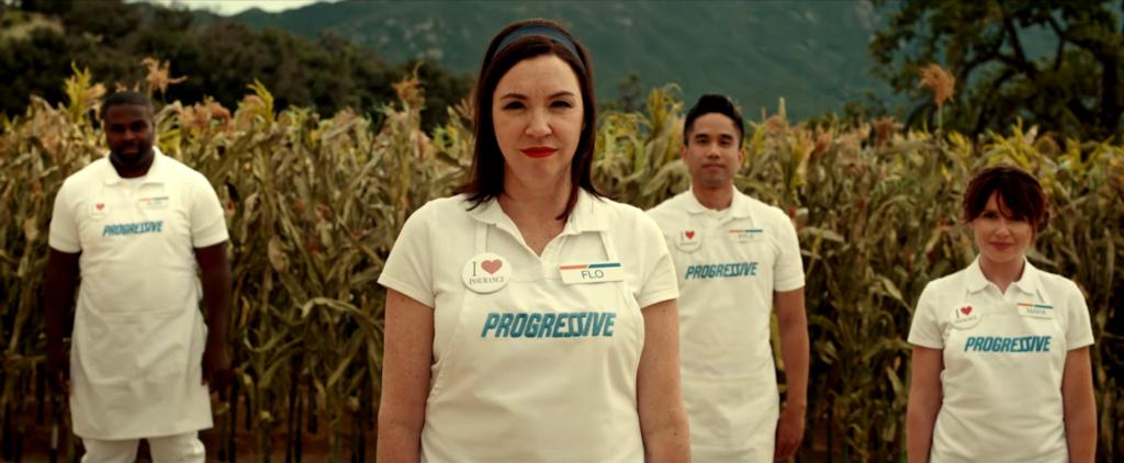 Still from a 'Progressive' commercial