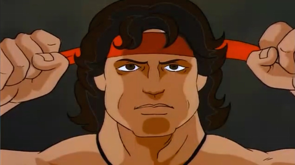 It's Weird That Rambo Was Once A Children's Cartoon