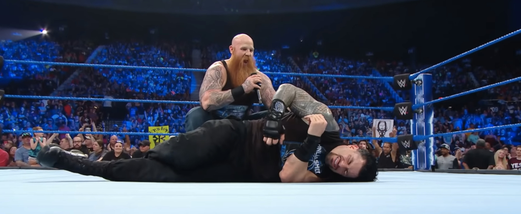 Erick Rowan and Roman Reigns