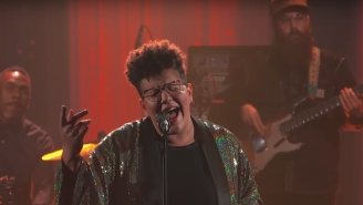 Brittany Howard Delivers A Soulful Rendition Of 'Stay High' On 'The Late Show'
