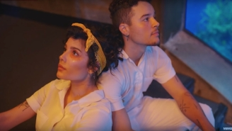 Halsey Dances In Front Of A Fish Tank In The Video To Her Empowering Single 'Clementine'