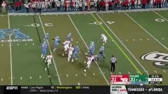 Tulane Beat Houston Thanks To A Fake Knee To Cap Off A 21-Point Comeback
