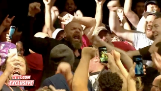 Triple H Celebrated With Fans And Answered Media Questions After NXT's USA Debut