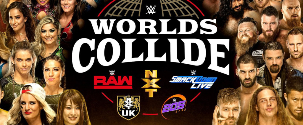WWE Worlds Collide Graphic