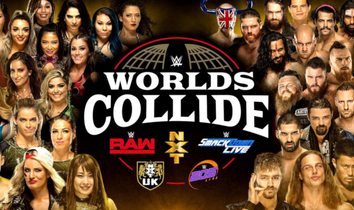 WWE Worlds Collide Is Replacing NXT TakeOver On Royal Rumble Weekend