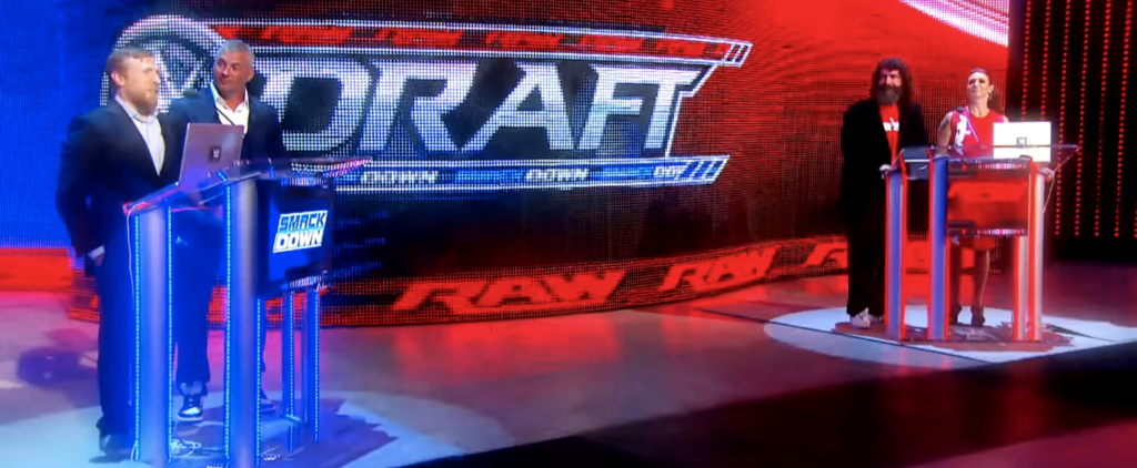 The 2016 WWE Draft