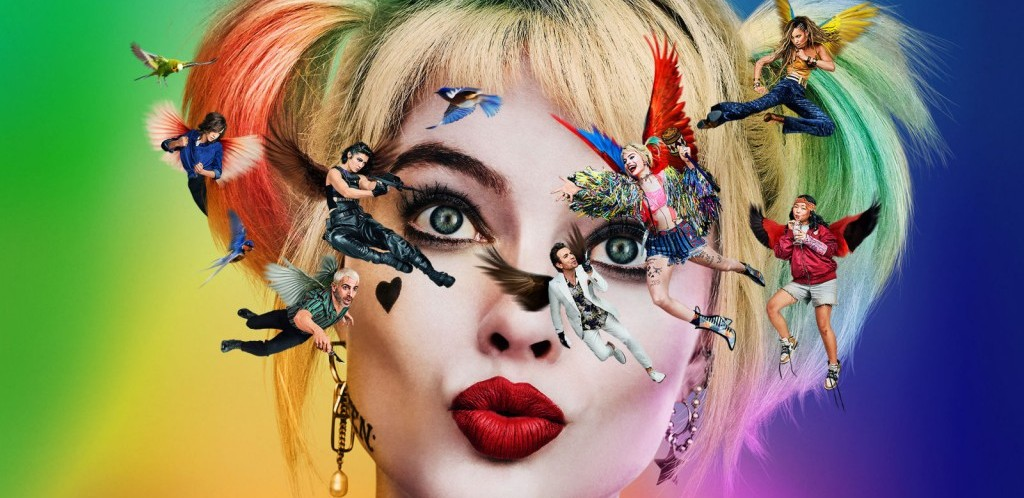 The First 'Birds Of Prey' Poster Puts The Joker's 'Damaged' Tattoo To Shame