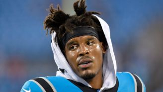 Cam Newton Will Miss Carolina's Game Against The Cardinals With A Foot Injury
