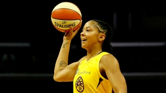 Candace Parker Won Her First WNBA Defensive Player Of The Year Award