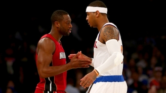 Dwyane Wade Is 'Disappointed' That Carmelo Anthony Still Isn't On A Team