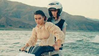 Charli XCX And Troye Sivan Ride Jet Skis And Look Cool Doing It In Their New '2099' Video
